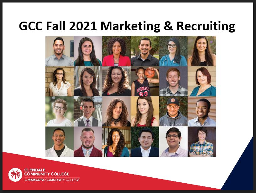Fall 2021 Marketing & Recruitment Plan